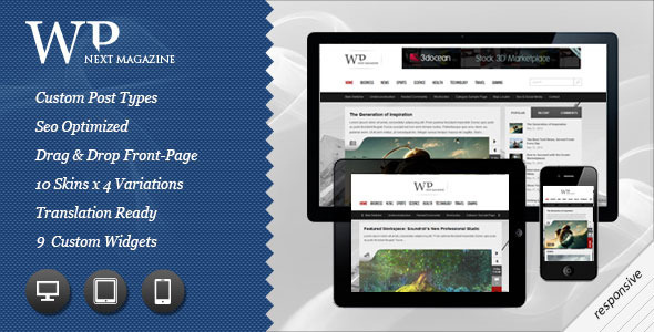 Next Responsive WP Magazine - ThemeForest Item for Sale