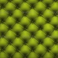 Green quilted leather 2