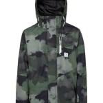 Protest Discovery ski-jas jongens groen/camouflage