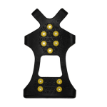 Anti Slip Zool zwart/geel
