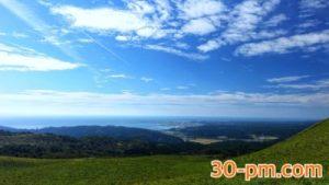寒風山からの景色写真