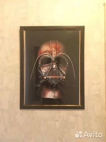 Фото-картина шлем Дарта Вейдера купить в Перми с доставкой ...