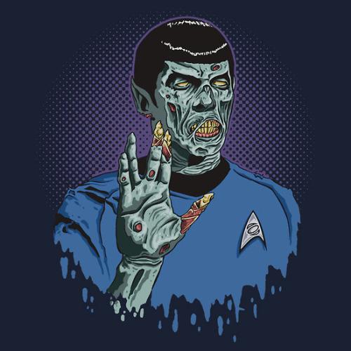 Zombie Spock (cc @ReadySteadyStop) ponamen:  Shawn Conn
