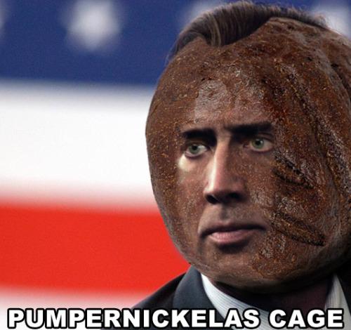 Pumpernickelas Cage