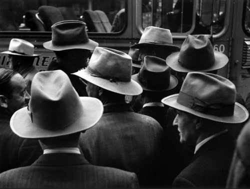 arsvitaest:  William Heick, Hats, Father's Day Picnic, 1951
