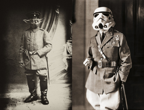 dbsw:  Yoda & Douglas MacArthur // by Daniel Polevoy (via…