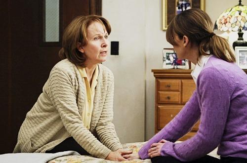 """_""""Mãe? Mamãe? """"  _""""Meredith!Você cresceu.""""  _""""Cresci. """"  _""""É uma pena… É horrivel crescer."""""""