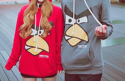 Angry birds hood