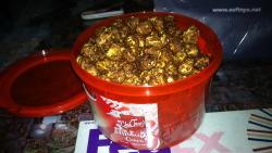 Chef Tony's Midnight Cocoa Popcorn