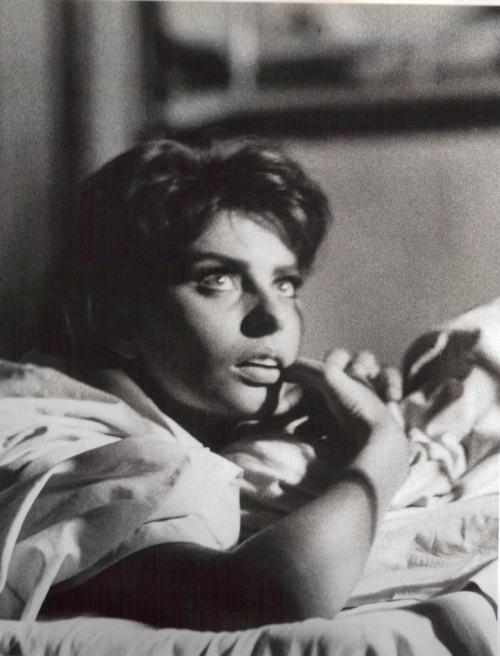 Aqueles olhos!  Sophia Loren, 1950, foto por Yul Brynner.  via iloveyulbrynner