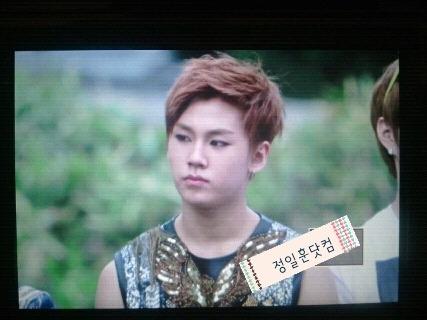 [FANTAKEN] 120429 Ilhoon @ Inkigayo Mini FanmeetingCR: @jih_com