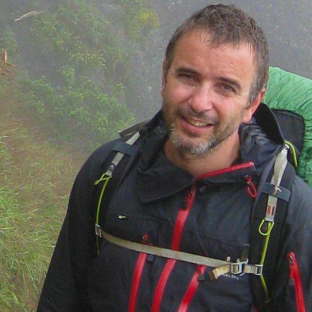 Antón Ruiz del staff de 3000KM