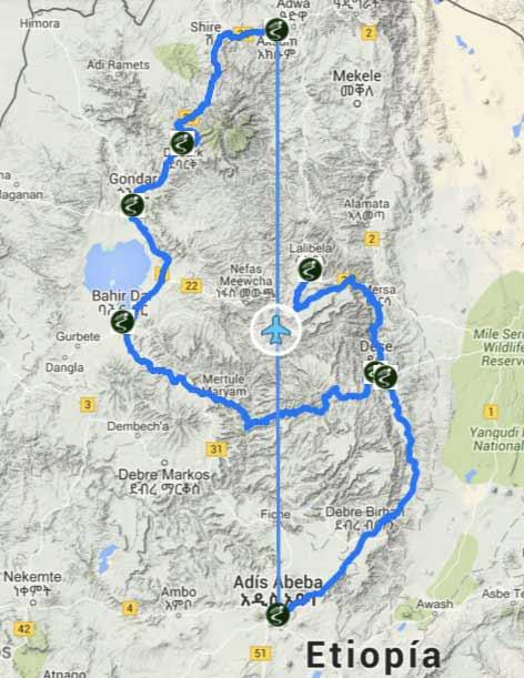 Etiopia, Africa - Viajes de Aventura y Viajes Alternativos y de Turismo Responsable, Mochilero, Grupo, Solo - Ruta - 3000KM