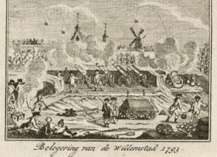 Belegering van de Willemstad 1793