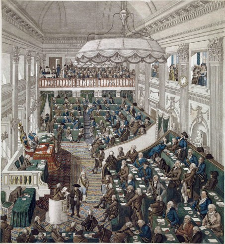 Opening van de Eerste Nationale Vergadering, 1 maart 1796