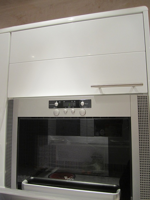 Integrated Microwave Do Not Use Howdens Kitchen 300K House