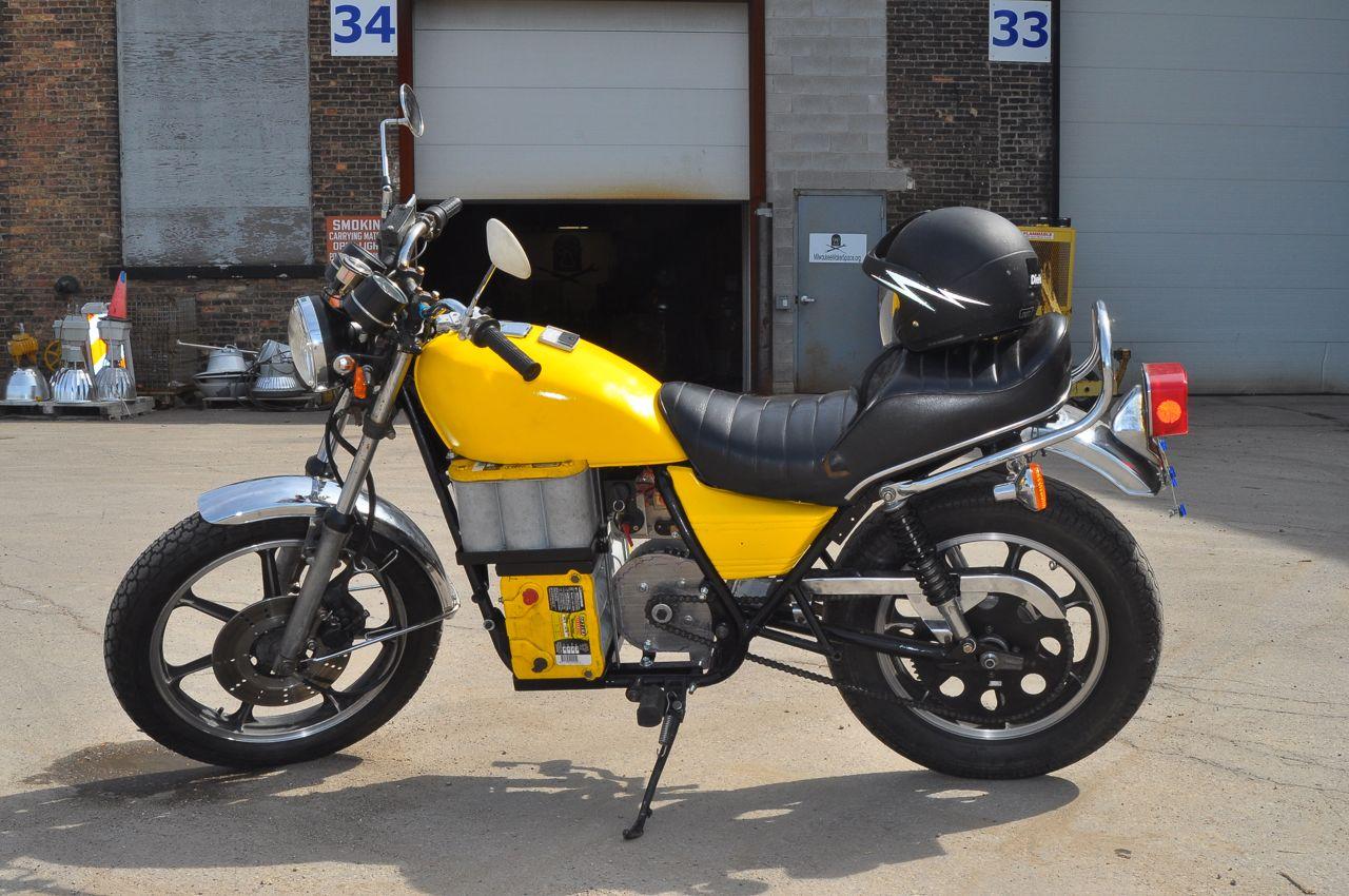 Electric Motorcycle – KZ440