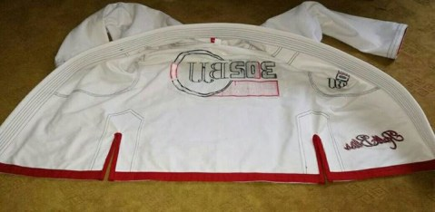 Inside of 302 BJJ GI