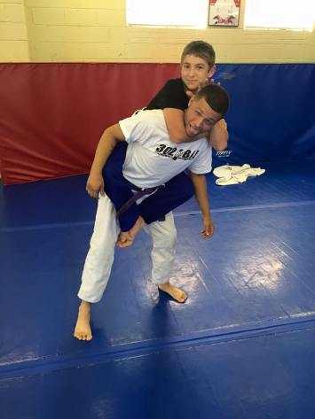 302 Brazilian Jiu Jitsu for Kids