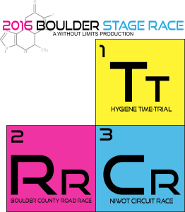 2016 Boulder Stage Race Logo