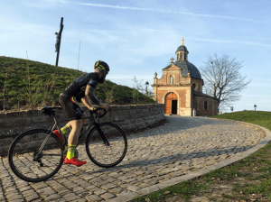 The Muur, which is not on this year's route,  but holds a special place in De Ronde history. What makes Belgium so special to cycling?