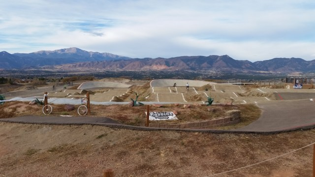 Colorado Springs Cyclocross race on November 13, 2016 utilizing the BMX track.