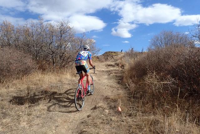 Athlete at the Colorado Springs Cyclocross Race