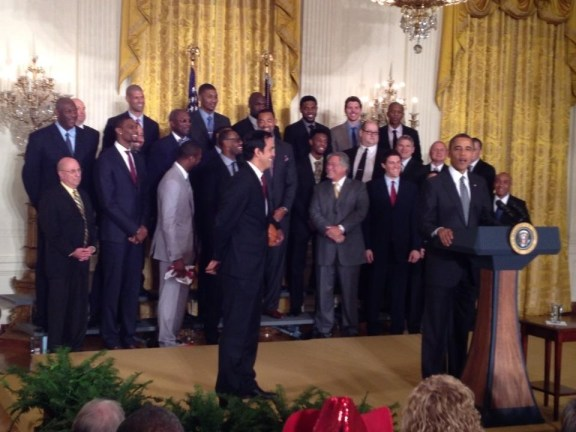 Heat at the White House 2013