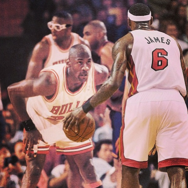 SPORTS: LeBron James on Michael Jordan Comment