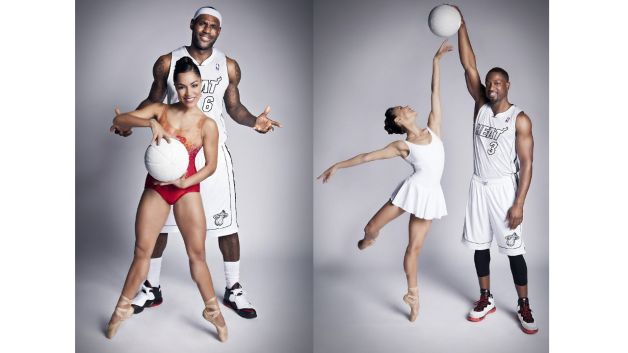 022013-fashion-beauty-LeBron-James-Jeanette-Delgado-dwayne-wade-basketball-ballet