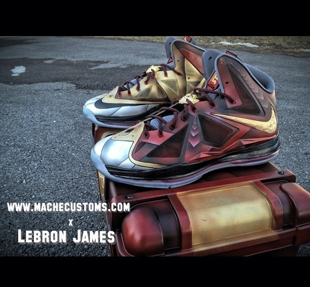 Mache+customs+LeBron+iron+man+3+kicks+2