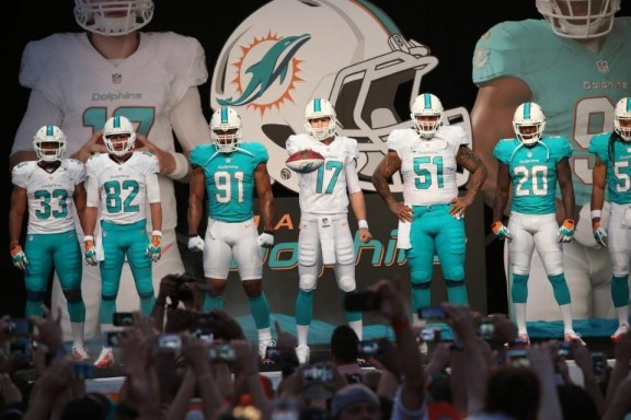 Dolphins+New+Uniforms