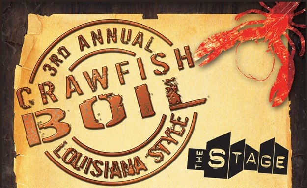 EVENT: The Stage 3rd Annual Crawfish Boil