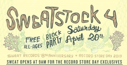 EVENT: Sweat-Stock - Sweat Records Free Block Party