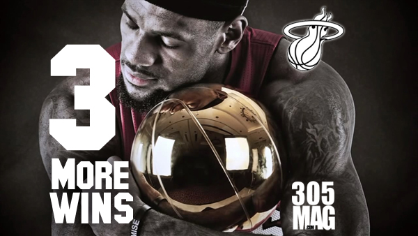 Lebron 3 more wins