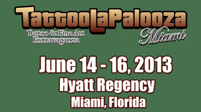 Tattoolapalooza june 14-16