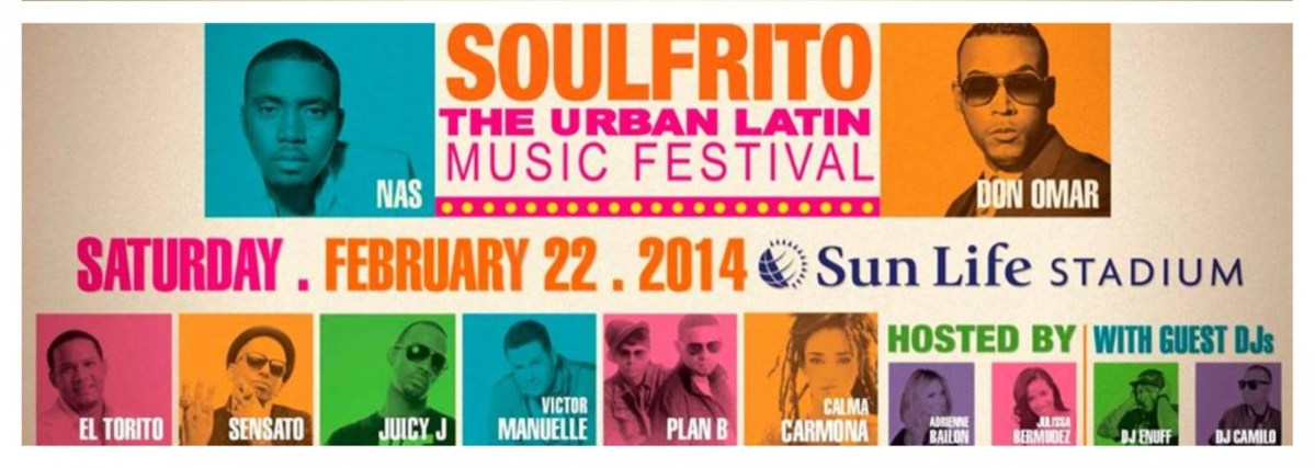 EVENT: SOULFRITO The Urban Music Festival - Feb. 22nd