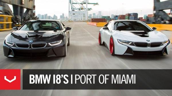 Vossen BMW I8s Port of Miami