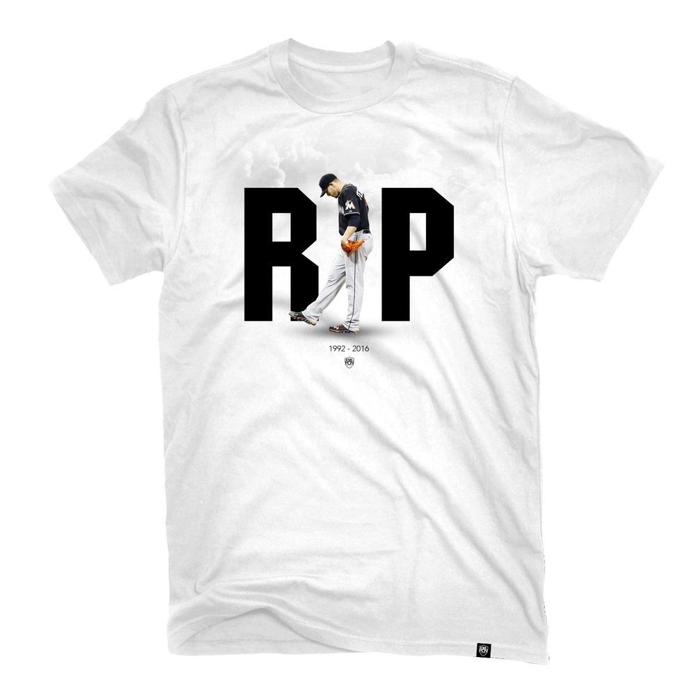 RIP JOSE FERNANDEZ • T-Shirt • by Eyekon Miami