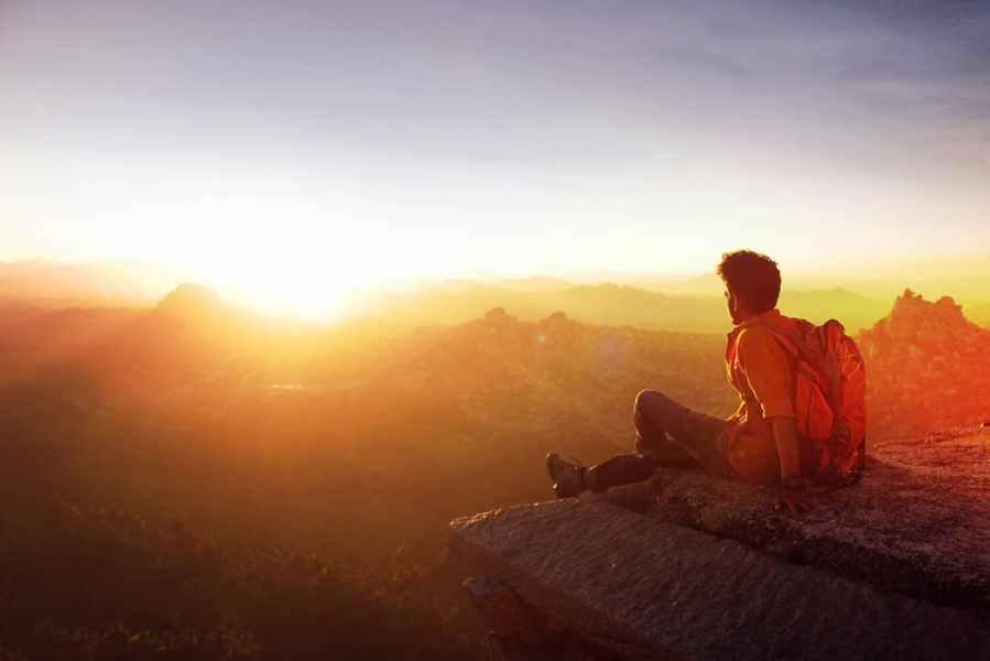 man-mountain-sunrise-pexels-photo-915972 - 30 60 100® MINISTRIES, INC.