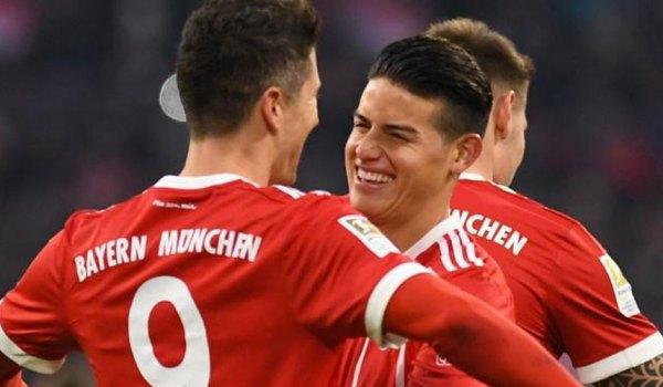"""""""James ha evolucionado muy positivamente en el Bayern"""" Heynckes"""