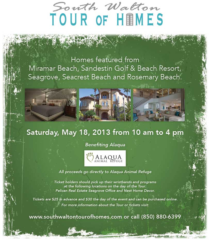 South Walton Tour Of Homes To Benefit Alaqua Animal Refuge 30A