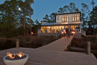 The perfect lake home for entertaining