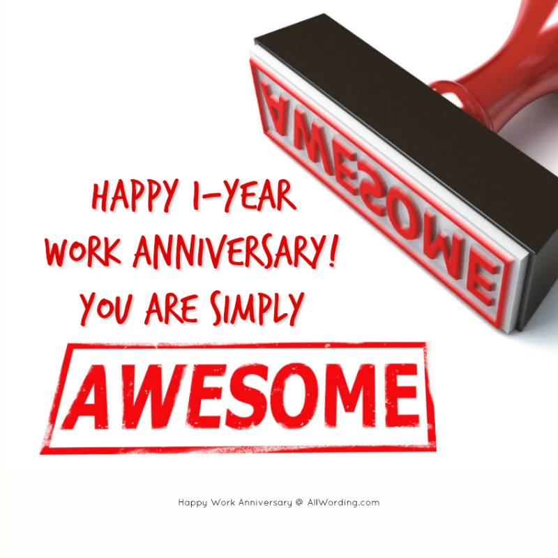 An Appreciation-Packed List of Work Anniversary Messages » AllWording.com