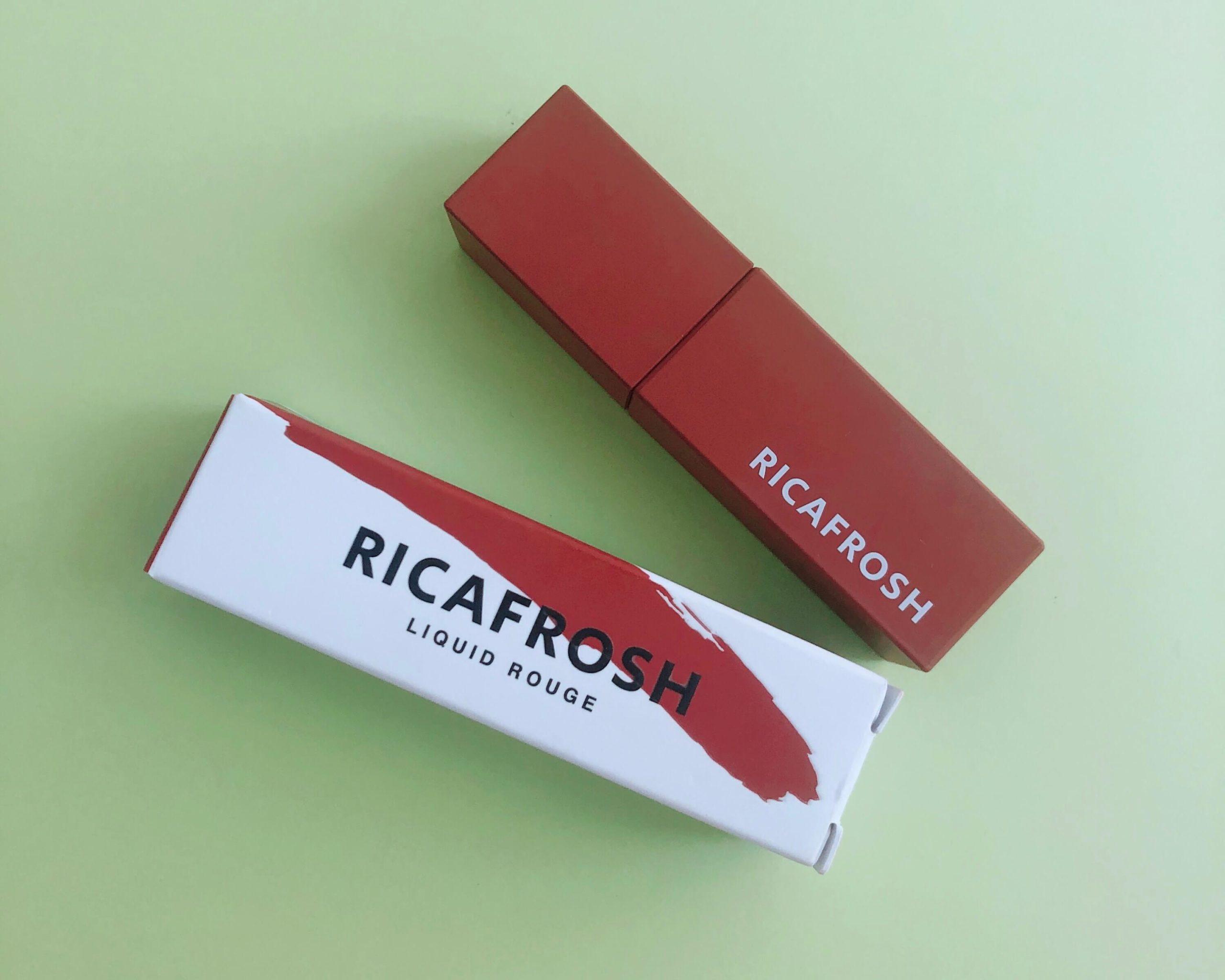 【落ちないリップ】リカフロッシュの06ルーブラウンはブルベにも似合う絶妙カラー♡