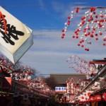 浅草寺の初詣の屋台はいつまで出てる?出店時間と露店の種類