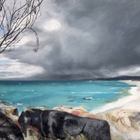 Incoming Storm ~ Bay of Fires