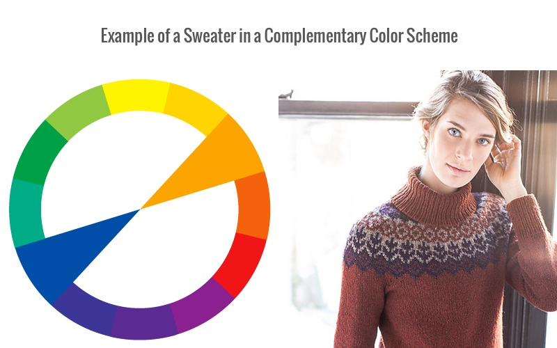 Complementary colors, color scheme, color wheel