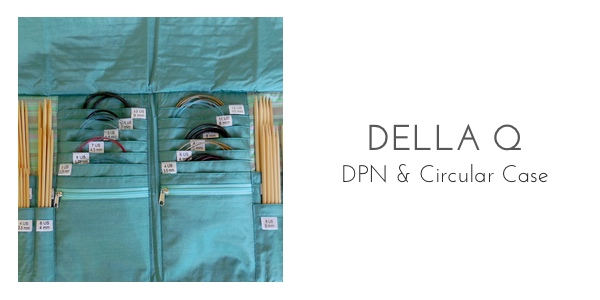 della q dpn and circular needle case organization