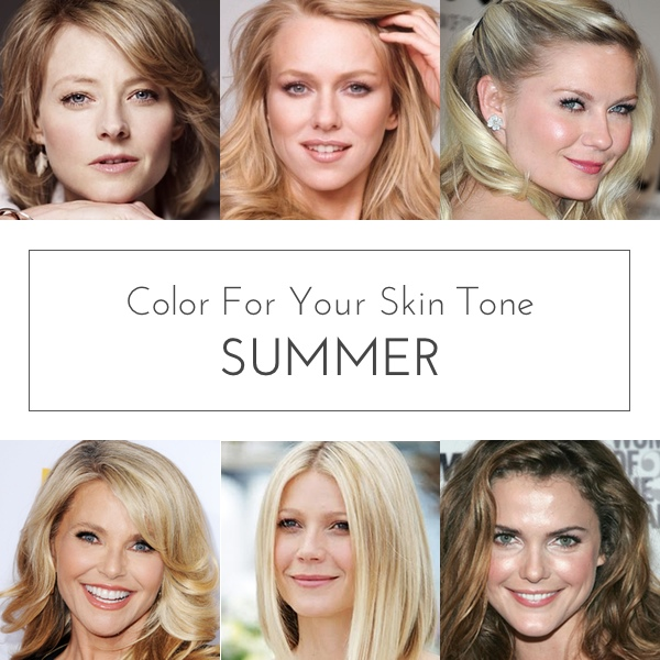 Color For Your Skin Tone: Summer